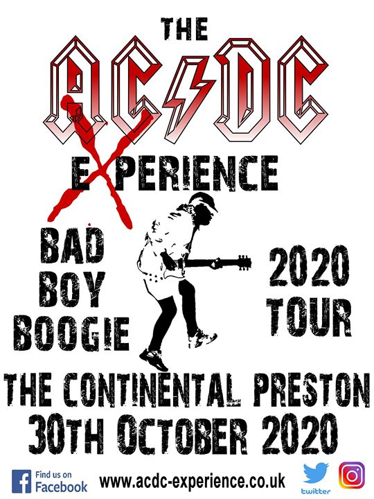 The AC/DC Experience - Bad Boy Boogie Tour