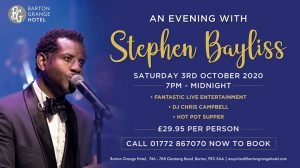 An Evening with Stephen Bayliss
