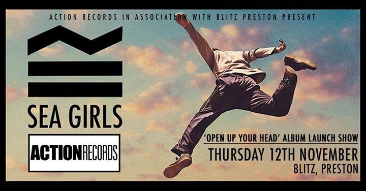 Sea Girls 'Open Up Your Head' Album Launch Show - Preston 12/11/2020